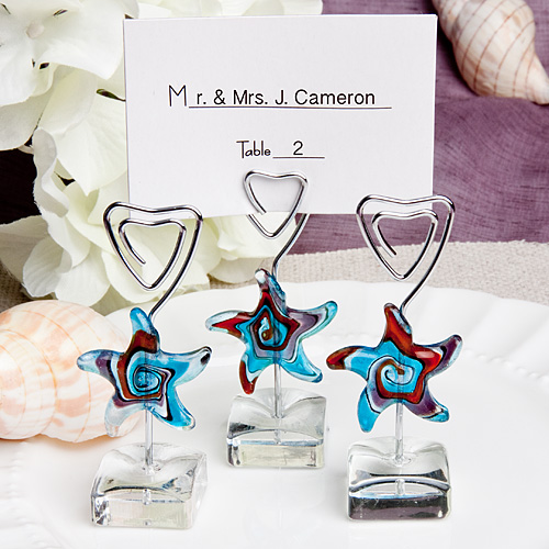 Starfish Design Place Card Holders