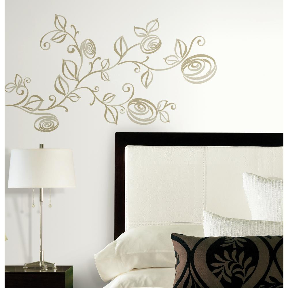 Stylized Roses Decal