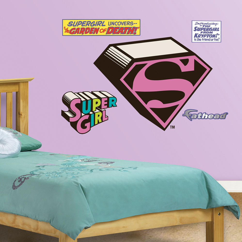 Supergirl Logo JUNIOR Wall Decal