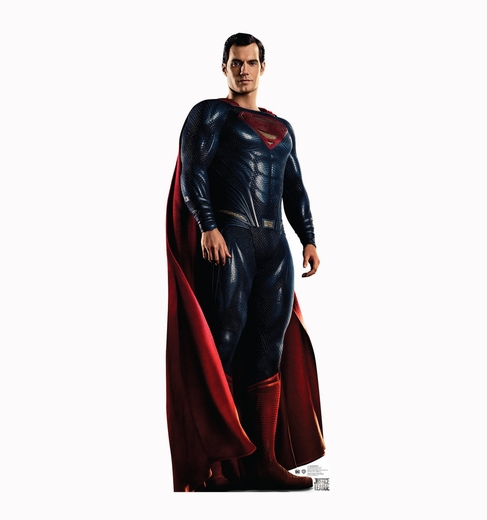 Superman Justice League Cardboard Cutout