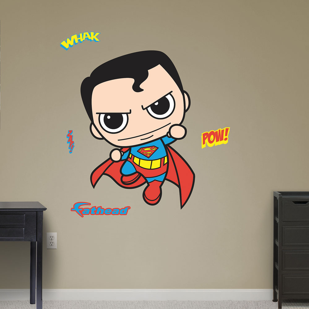 Superman Kids REALBIG Wall Decal