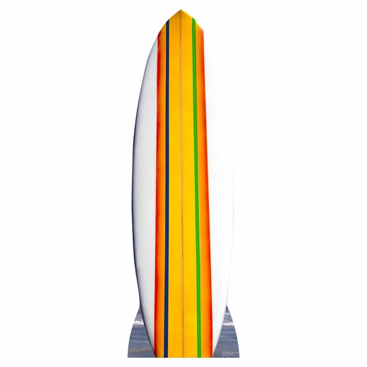 Surf Board Cardboard Cutout
