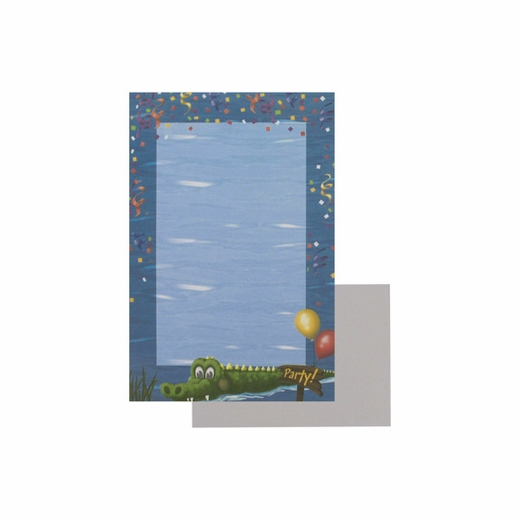"""""""Swamp Party"""" Imprintable Stationery"""