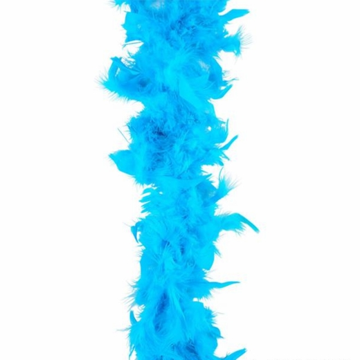 Teal Feather Boa (6' 60 grams)