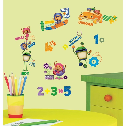 Team Umizoomi Peel And Stick Decal