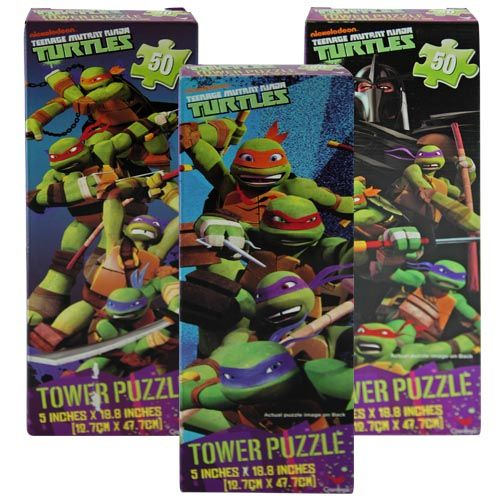 Teenage Mutant Ninja Turtles Assorted Tower Puzzle