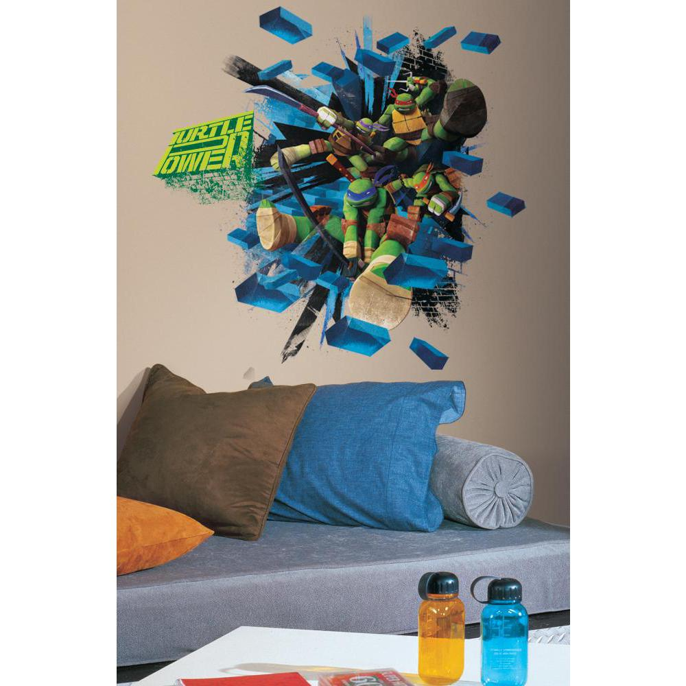 Teenage Mutant Ninja Turtles Brick Poster Decal