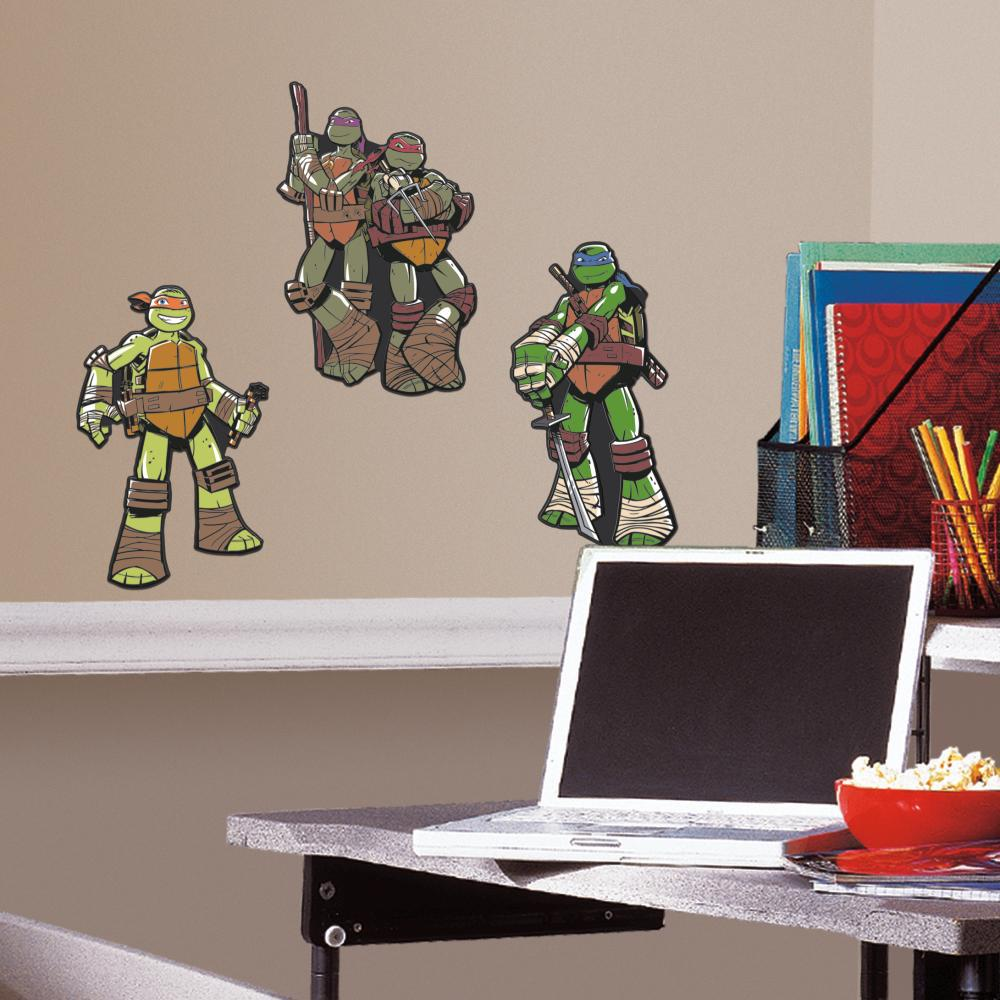 Teenage Mutant Ninja Turtles Foam Characters