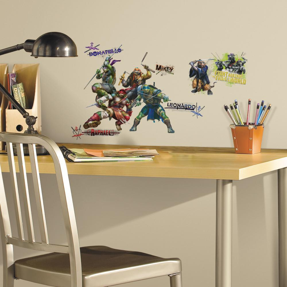Teenage Mutant Ninja Turtles Movie Decal