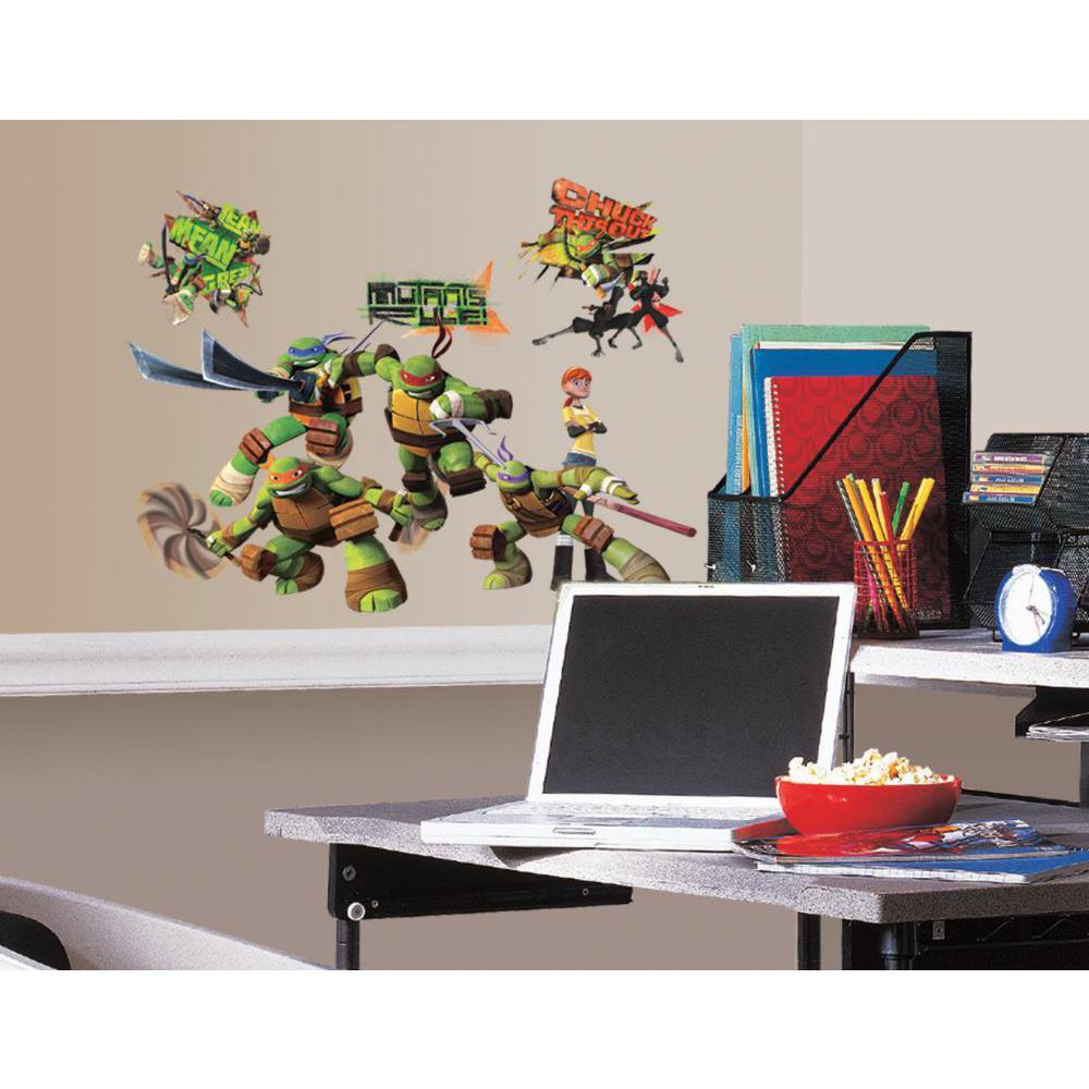 Teenage Mutant Ninja Turtles Peel And Stick Decal