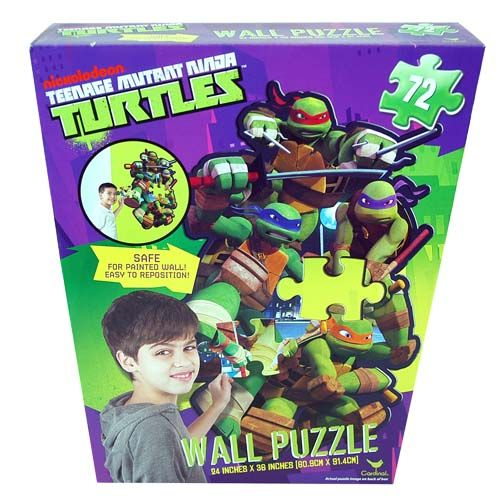 Teenage Mutant Ninja Turtles Wall Puzzle