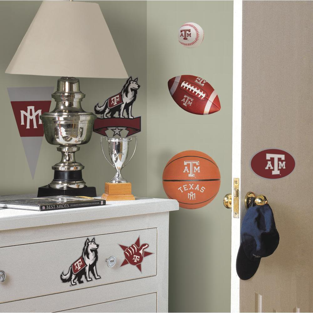 Texas A And M University Peel And Stick Decal