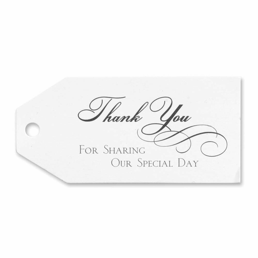 Thank You Favor Cards