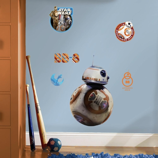 The Force Awakens BB-8 Wall Decals
