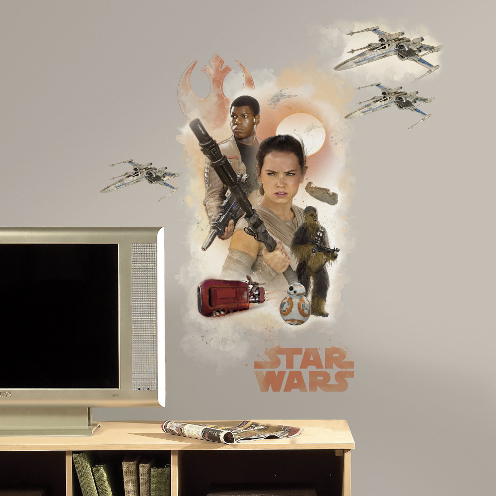 The Force Awakens Heroes Wall Decals