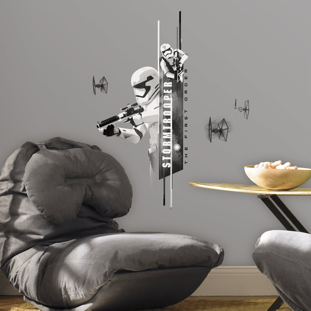 The Force Awakens Stormtrooper Wall Decal