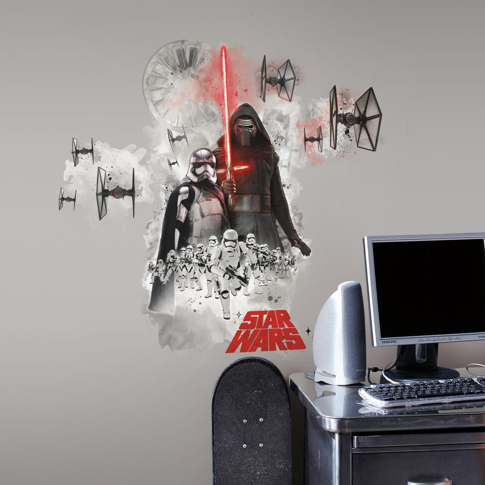 The Force Awakens Villians Wall Decals