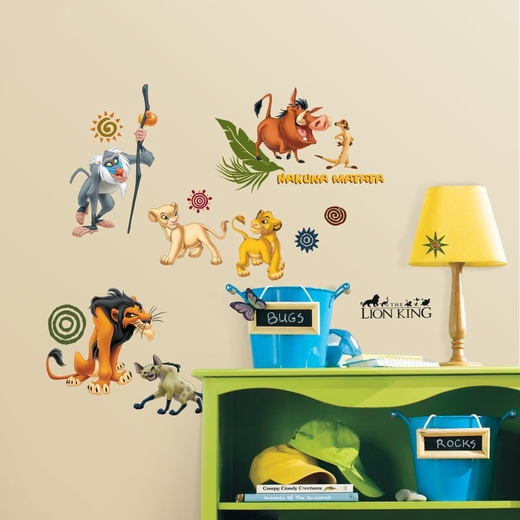 The Lion King Peel And Stick Decal
