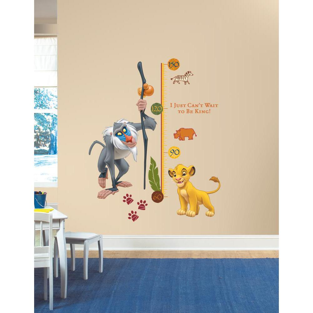 The Lion King Rafiki Metric Growth Chart Decal