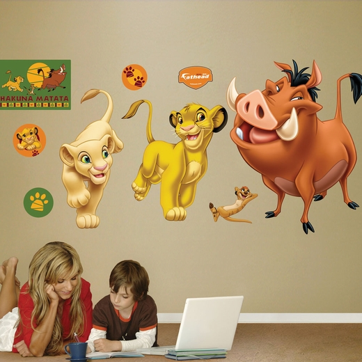 The Lion King REALBIG Wall Decal