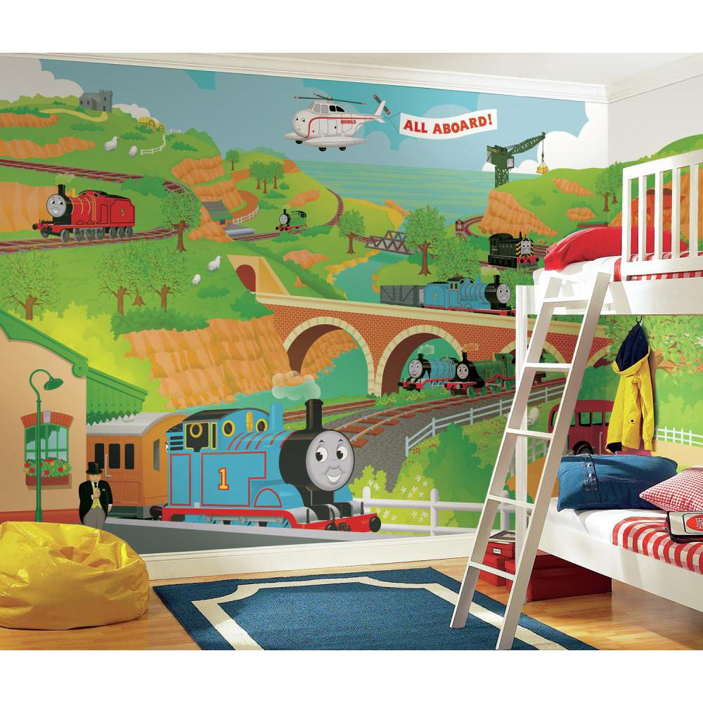 Thomas the Train Full Size Mural