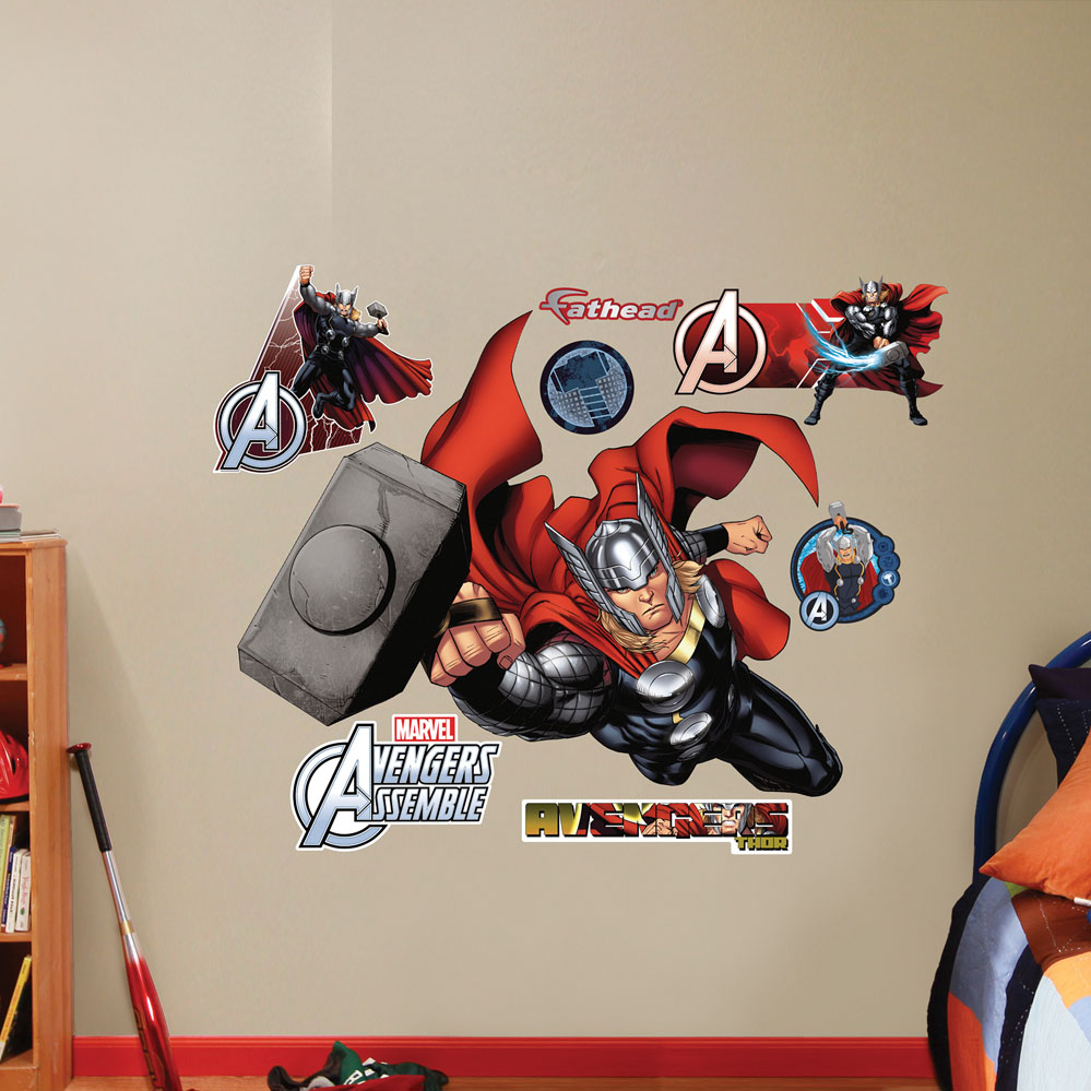 Thor Avengers Assemble REALBIG Wall Decal
