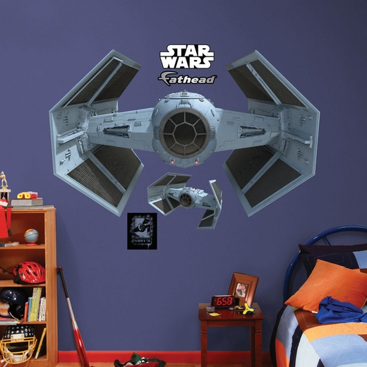 TIE Advanced X1 Starfighter Wall Decal Wall Decal