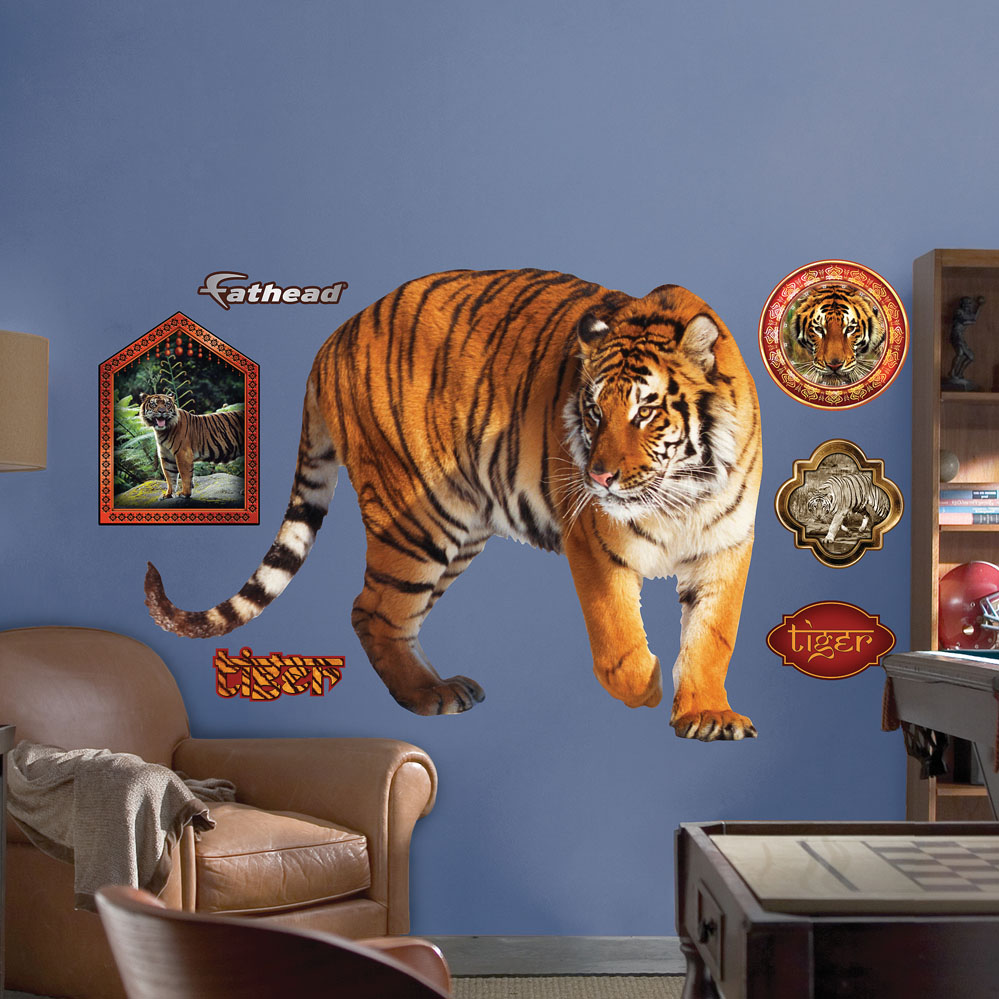 Tiger REALBIG Wall Decal