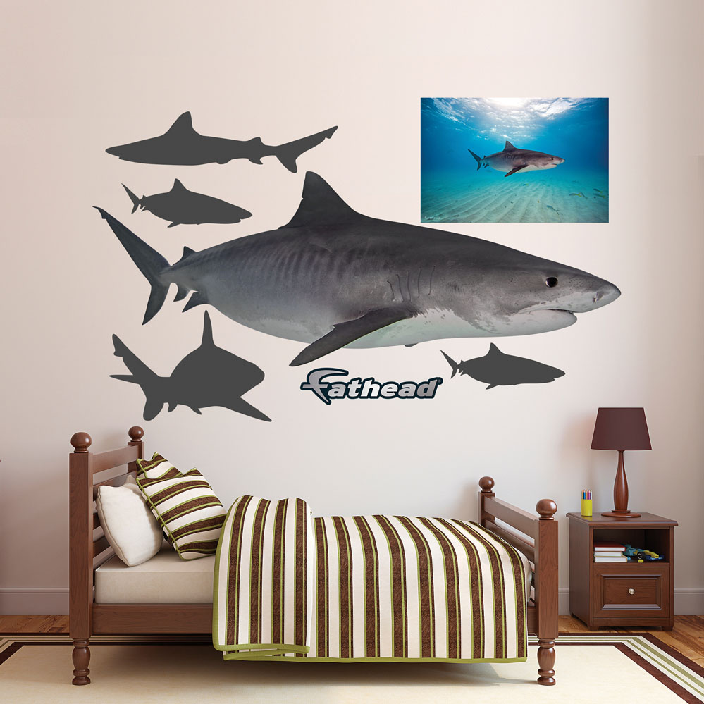 Tiger Shark REALBIG Wall Decal