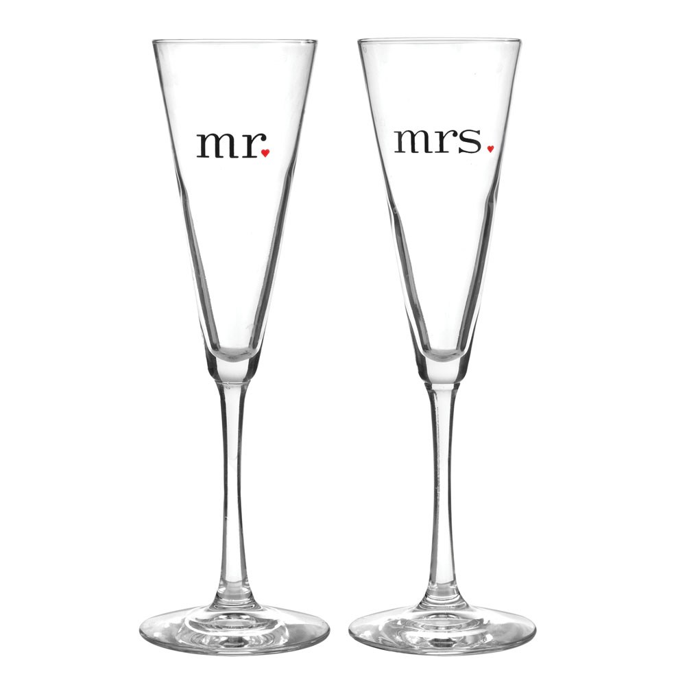 Together at Last Mr And Mrs Flutes