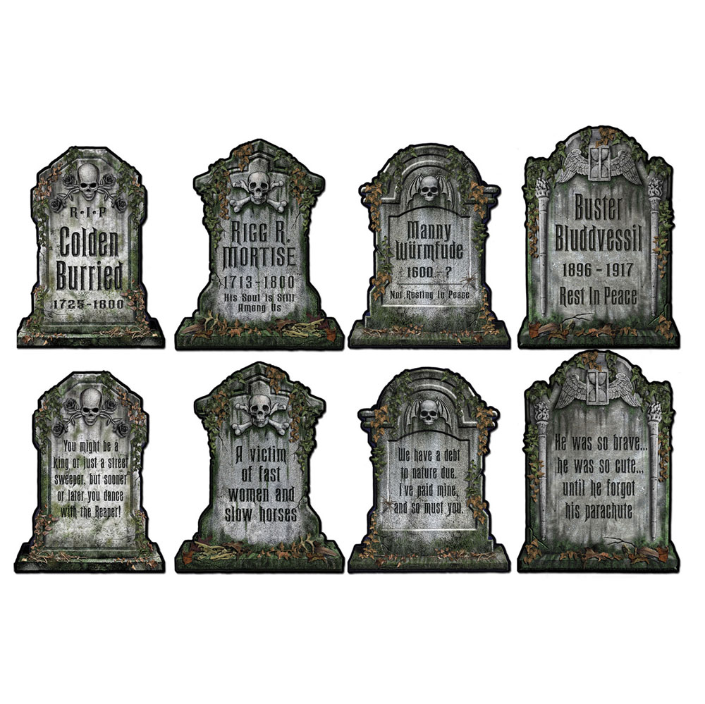 Tombstone cutouts for Tombstone templates for halloween