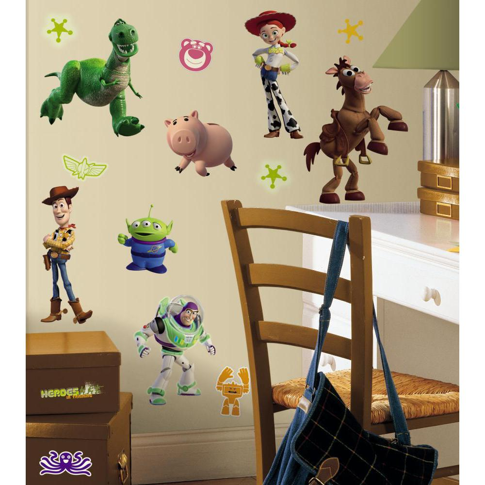 Toy Story 3 Peel And Stick Decal-Glow in the Dark