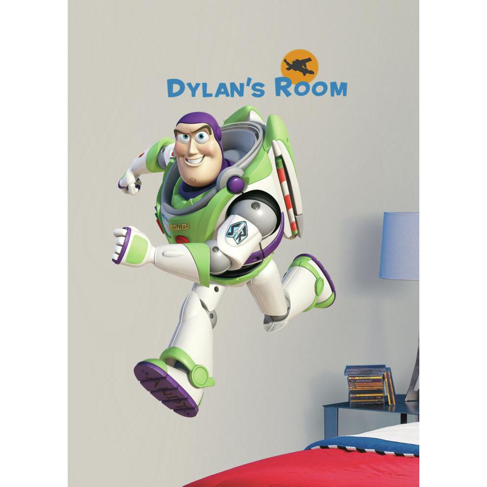 Toy Story Buzz Giant Decal w-Personalization