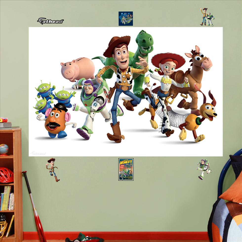 Toy Story Cast Mural-Fathead