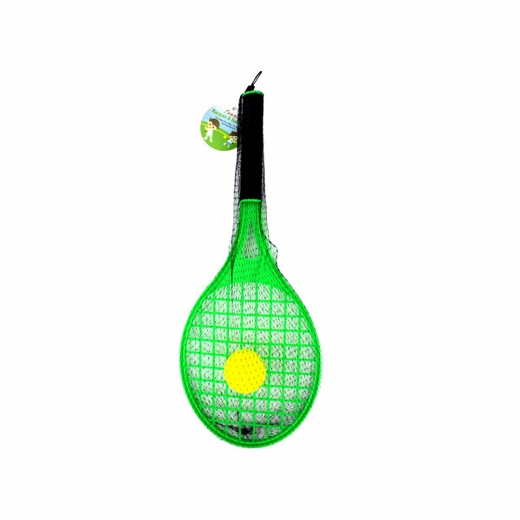 Toy Tennis Racket With Foam Ball