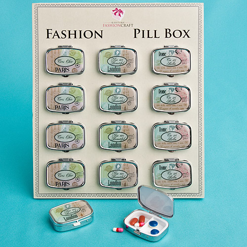 Travel-Design Pill Boxes
