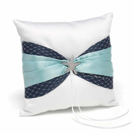 Treasures from the Sea Ring Pillow