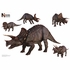 Triceratops Layout Wall Decor