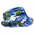 Tropical Design Fedora Hat