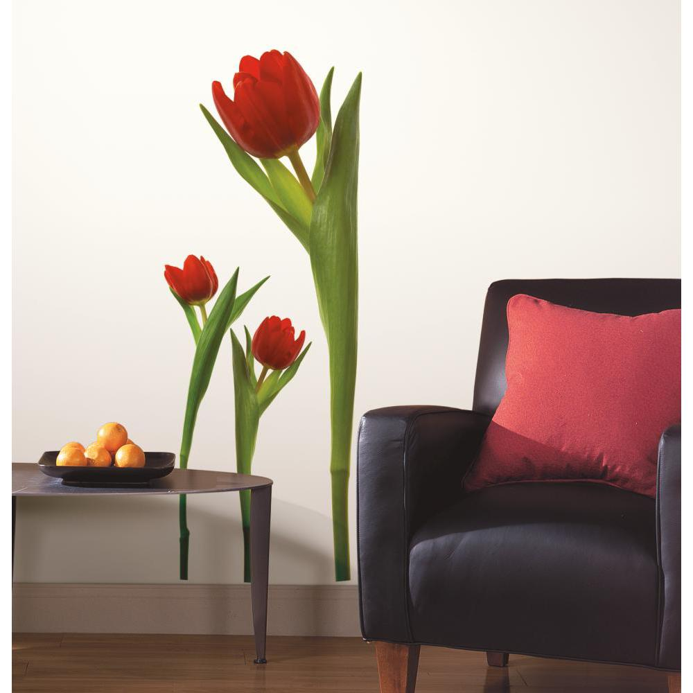 Tulips Peel And Stick Decal