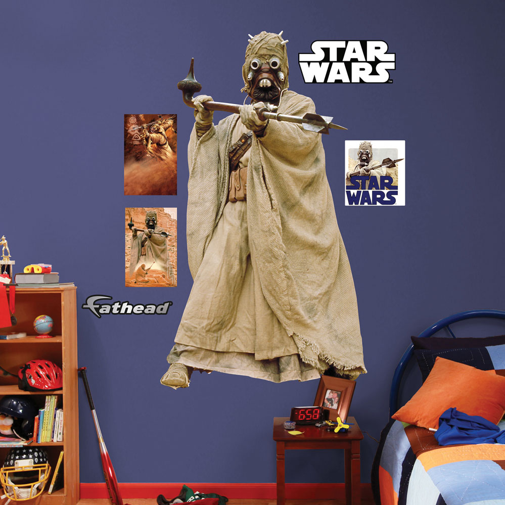 Tusken Raider REALBIG Wall Decal