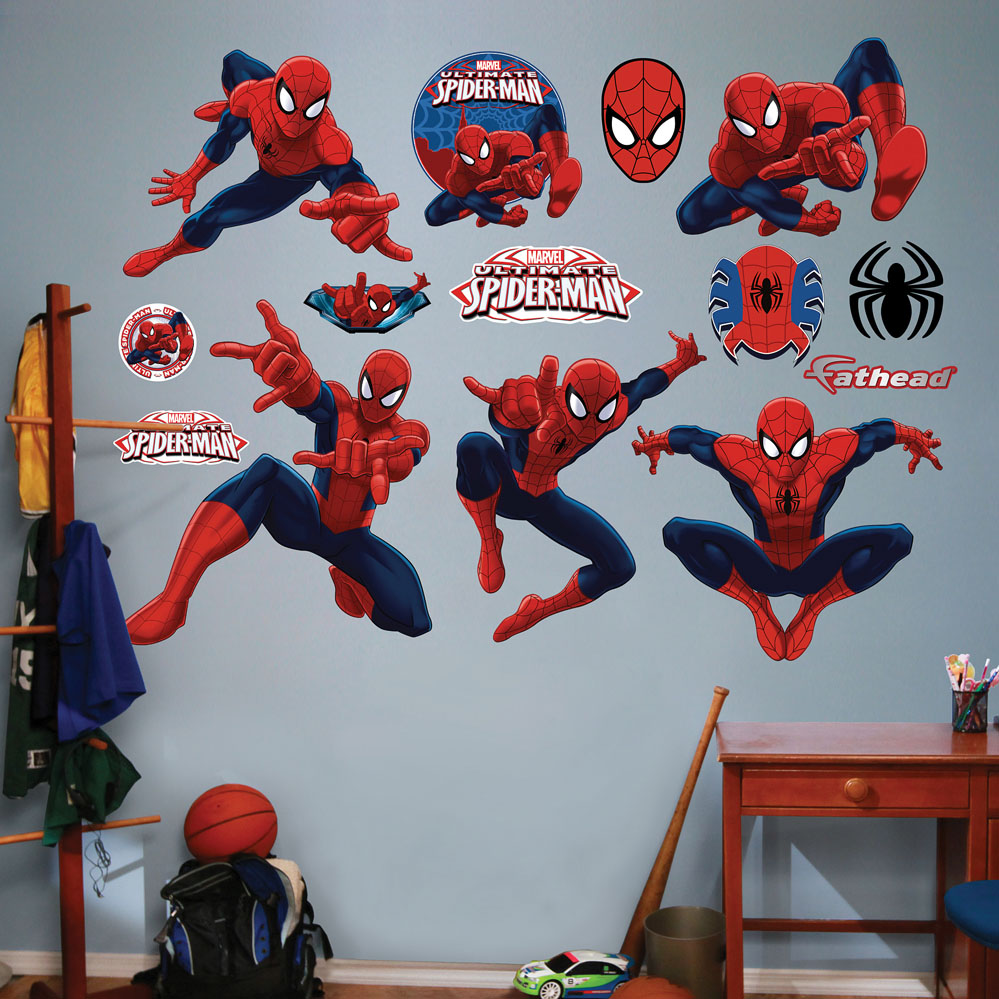 Ultimate Spider-Man Collection REALBIG Wall Decal