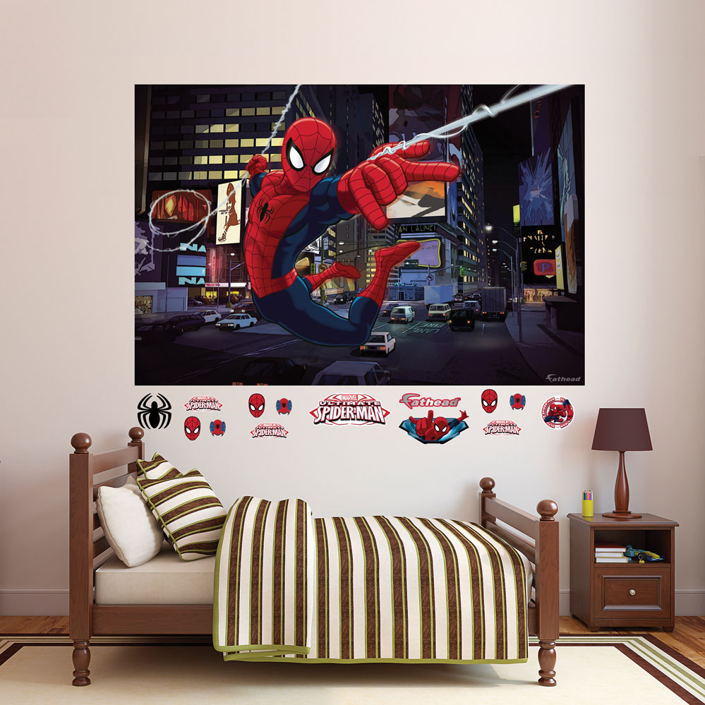 Ultimate Spider-Man Mural REALBIG Wall Decal