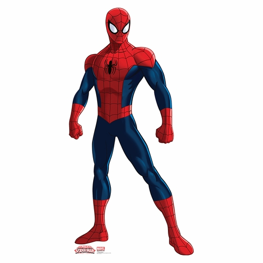 Ultimate Spider-Man Muscles Lifesized Standup