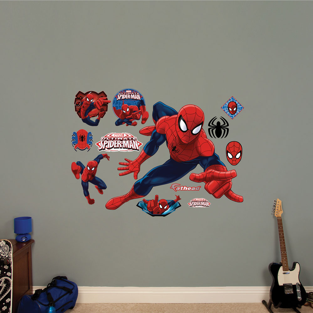 Ultimate Spider-Man REALBIG Wall Decal