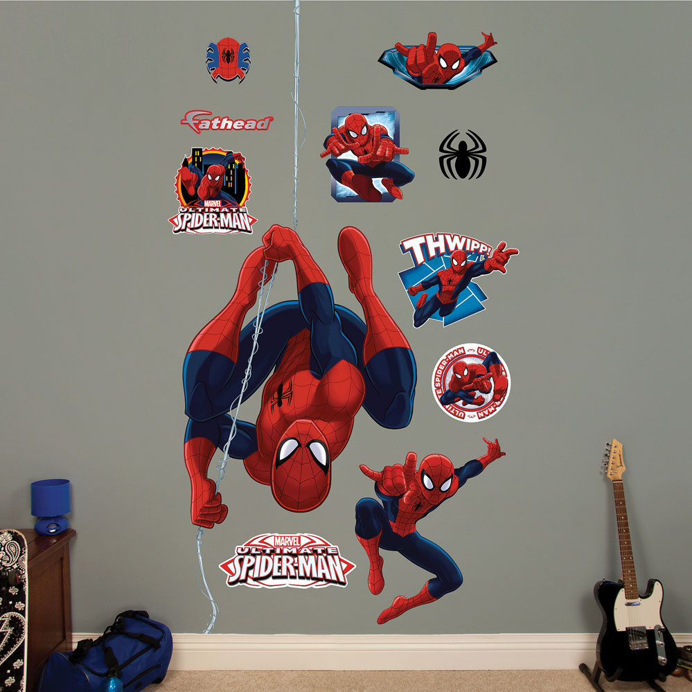 Ultimate Spider-Man Repel REALBIG Wall Decal