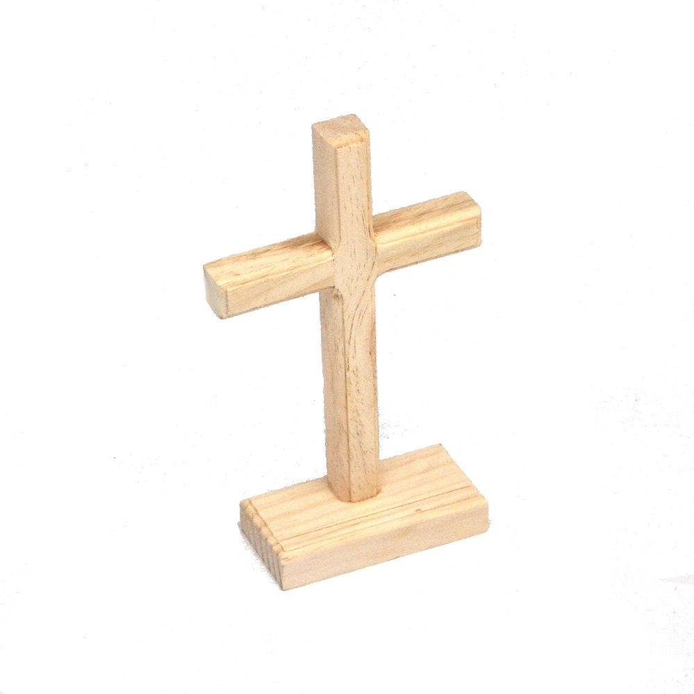 Unfinished wooden cross for Wooden craft crosses wholesale