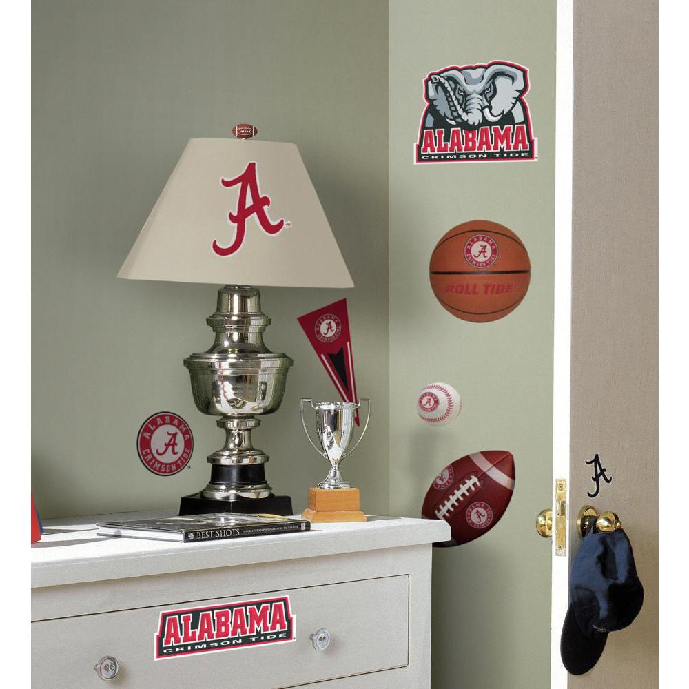 University of Alabama Peel And Stick Decal
