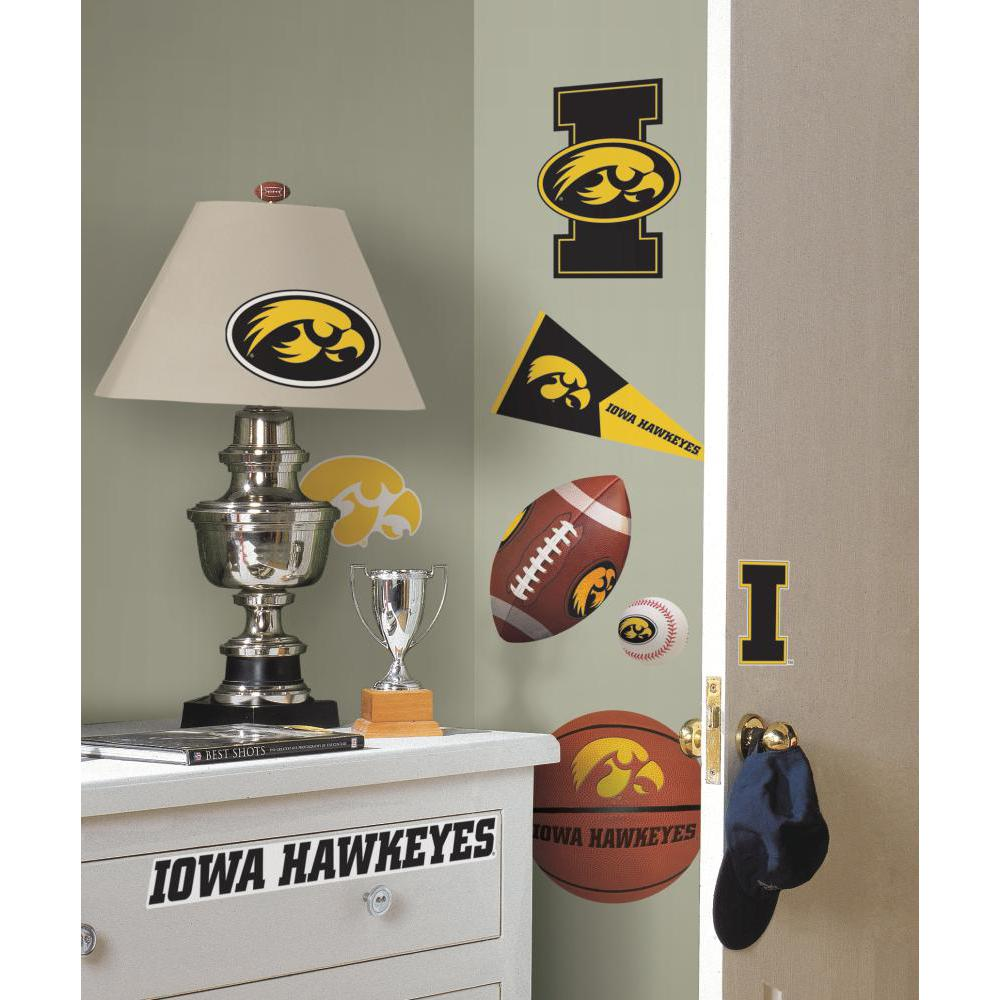 University of Iowa Peel And Stick Decal