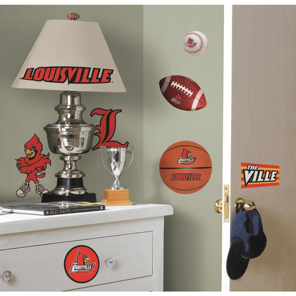 University of Louisville Peel And Stick Decal